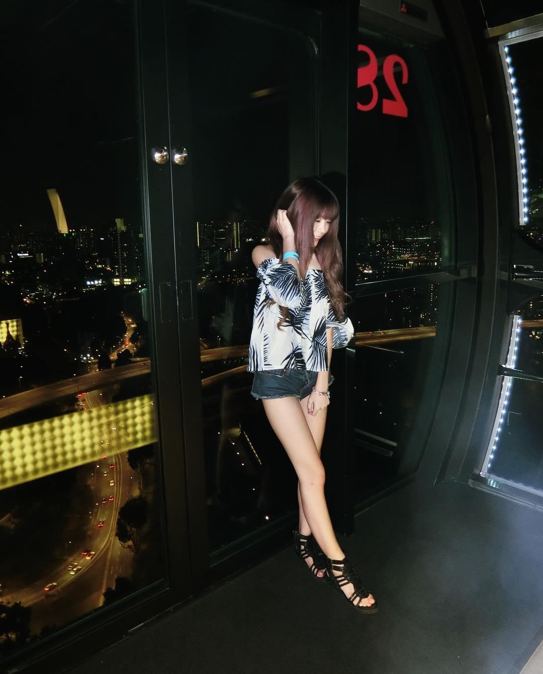 台灣超夯實況主「瑀熙」神似「徐若瑄」美腿小隻馬: 腿控的最愛!(14P+門)
